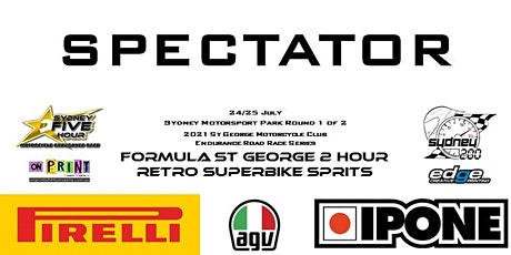 St George Motorcycle Club Endurance Series Round 1 of 2 tickets