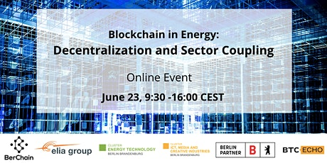 Blockchain in Energy: Decentralization and Sector Coupling tickets