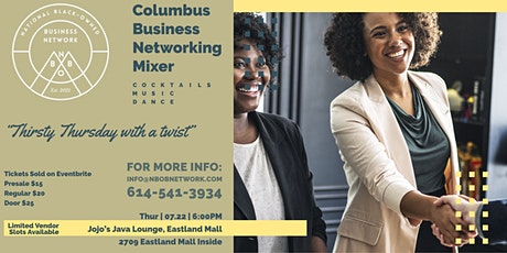 Columbus Business Networking Mixer tickets