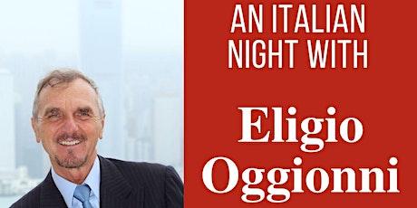An Italian night with Eligio Oggionni tickets