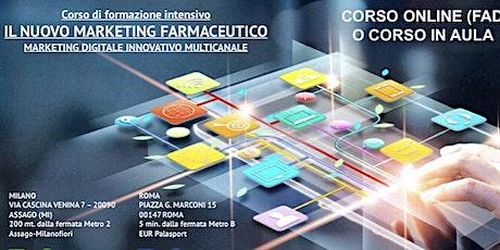 Corso in Digital Marketing Farmaceutico biglietti
