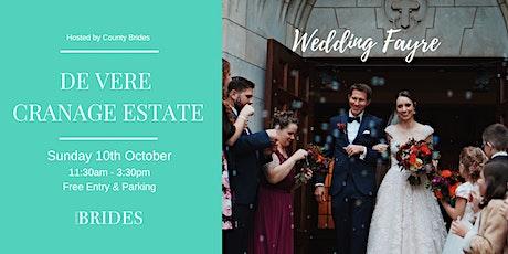 De Vere Cranage Estate Wedding Fayre Hosted by County Brides tickets