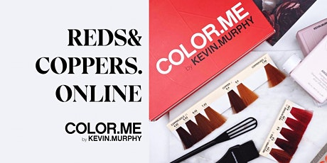 ONLINE-KOULUTUS: COLOR.ME REDS&COPPERS.ONLINE MA 25.10 KLO 9-10 tickets