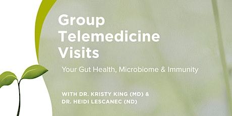 Group Telemedicine : Gut Health, Microbiome and Immunity: Gut-Brain Axis tickets