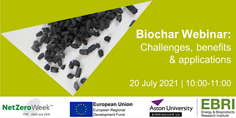 Biochar – insights into challenges, benefits & applications tickets