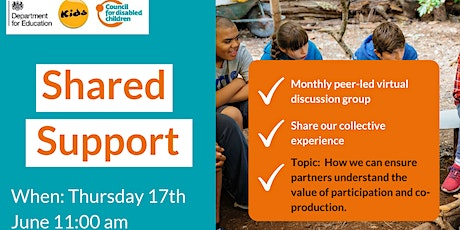 Making Participation Work's Shared Support tickets