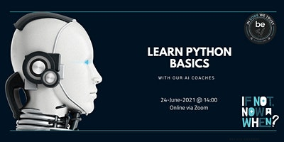 BeCode Antwerp – Basics of Python Workshop