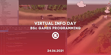 VIRTUAL INFO DAY: BSc GAMES PROGRAMMING Tickets