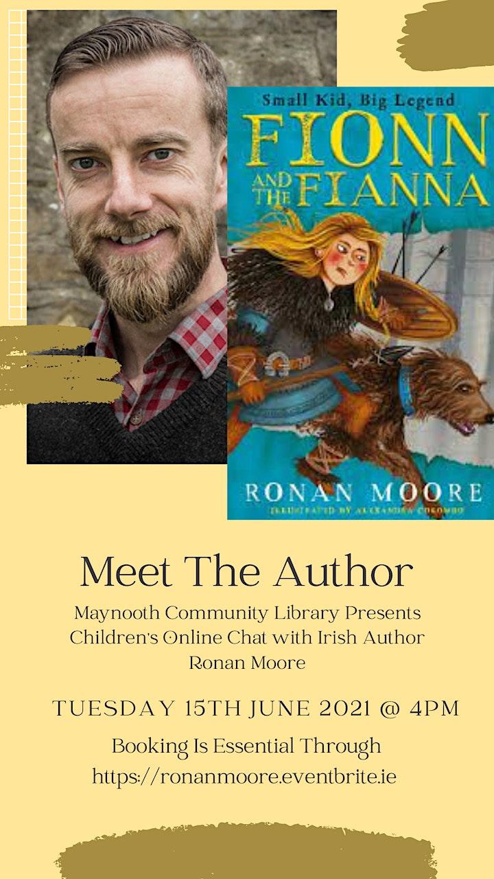 Meet The Author Ronan Moore image