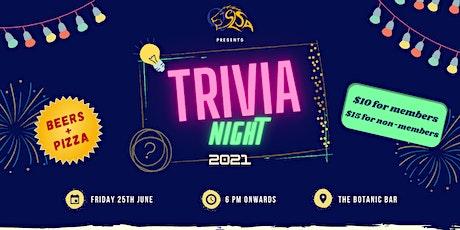 Trivia Night 2021 tickets