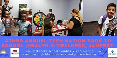 4th Annual Teen Nation Back To School -Health and Wellness Jam Fest tickets