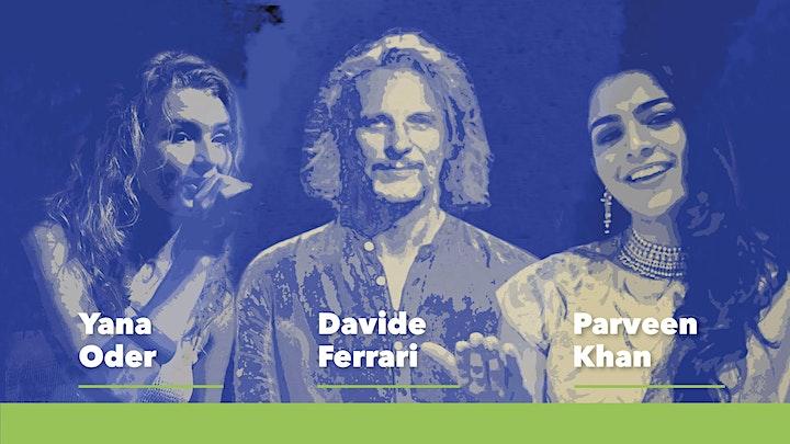 Immagine DAVIDE FERRARI feat. YANA ODER e PARVEEN KHAN: MUSICA APOLIDE