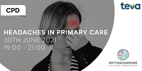 CPD - Headaches in Primary Care tickets