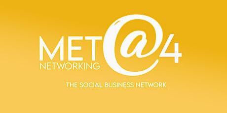 Met @ 4 Networking - June tickets