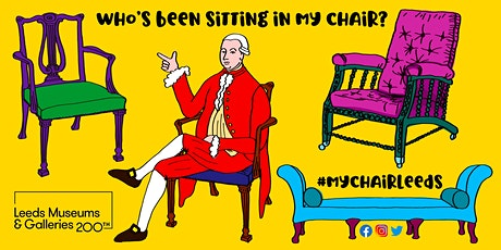 Who's been sitting in my chair? Online Family Art Workshop tickets