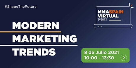 MODERN MARKETING TRENDS  -  8 de Julio 2021 biglietti