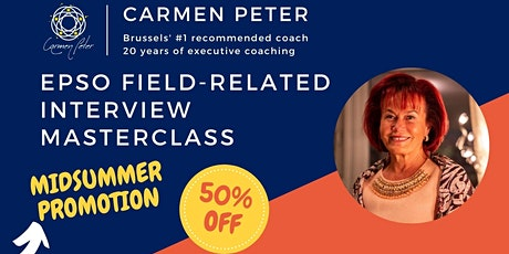 EPSO Field-related Interview Masterclass tickets