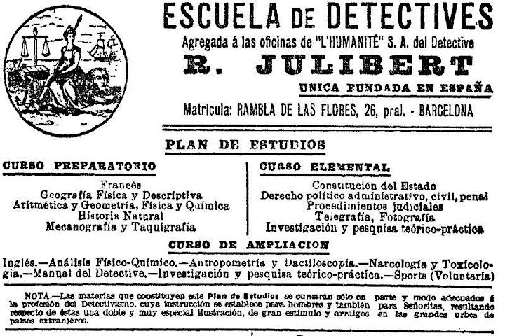 Imagen de Los detectives privados (ss. XIX-XXI): una historia elemental
