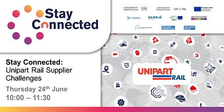 Stay Connected: Unipart Rail Supplier Challenges tickets