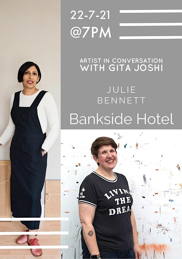 Artist Julie Bennett in Conversation with Gita Joshi image