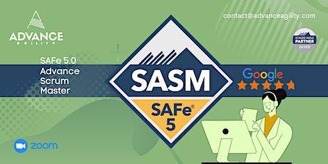 SAFe Advanced Scrum Master(Online/Zoom) Sept 23-24, Thu-Fri,California(PST) tickets