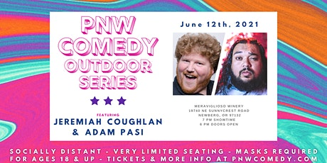 PNW Comedy: Outdoor Series at Meraviglioso Winery tickets