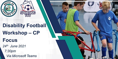 Disability Football Workshop - CP Focus tickets