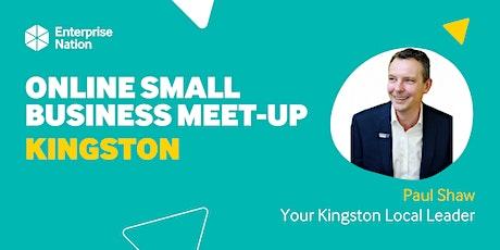 Online small business meet-up: Kingston tickets