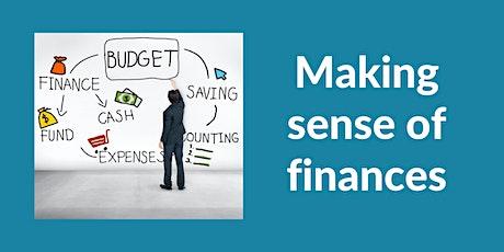 Information Session |Making sense of finances tickets