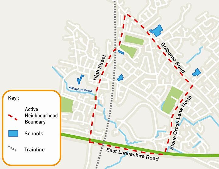 Wigan Golborne Active Neighbourhood  WORKSHOP 2 image