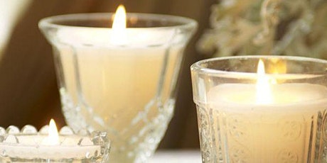 Personalised Scented Soy Candle making workshop online tickets