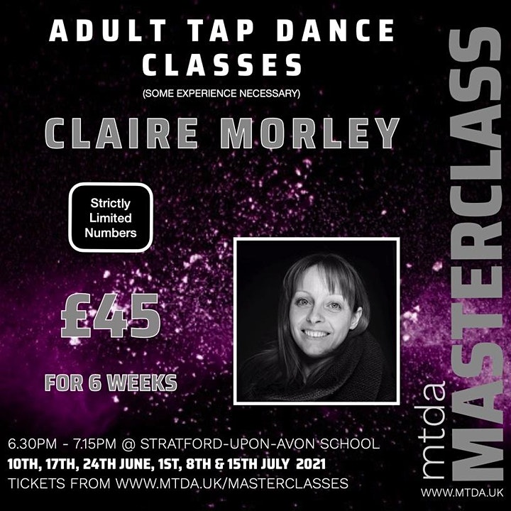 mtda Weekly Adult Tap Dance with Claire Morley image