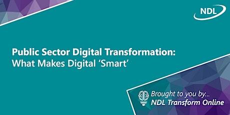 Public Sector Digital Transformation: What Makes Digital 'Smart' tickets