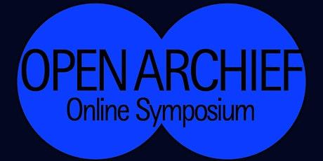 Symposium Open Archief tickets