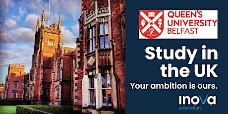 Att. Peru: Estudia en Irlanda del Norte en la Universidad Queen's Belfast tickets