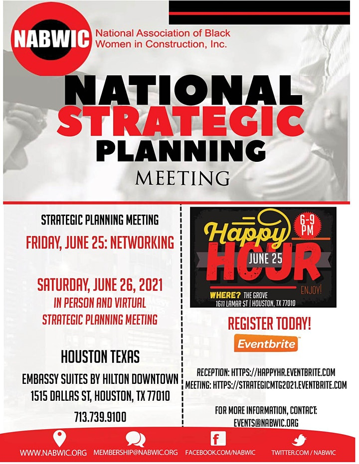 NABWIC Strategic Planning Happy Hour image