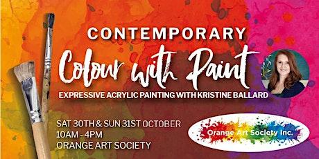 Kristine Ballard - High Tea Art Party & Colour like Kandinsky tickets