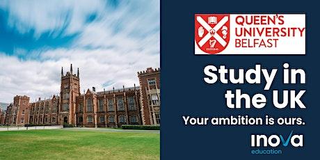 Att. Paraguay: Estudia en Irlanda del Norte en la Univ. de Queen's Belfast entradas