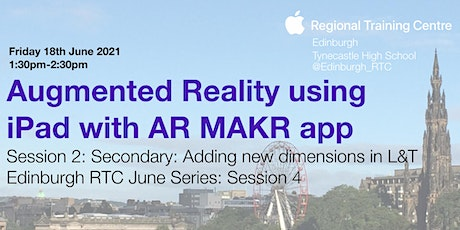 Augmented Reality using iPad with AR MAKR app: Session 2 Secondary tickets