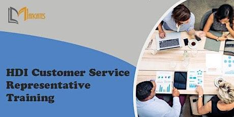 HDI Customer Service Representative Virtual Training in Monterrey tickets