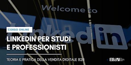 Linkedin per studi e professionisti – La vendita digitale B2B biglietti