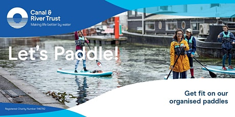 Let's Paddle - Paddle Board Taster session in Leicester tickets