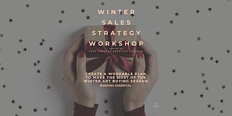 Winter Art Sales Strategy Workshop tickets