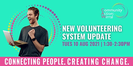 New Volunteer System Drop-In Session tickets