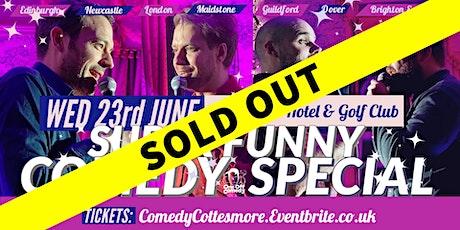 Comedy Special at Cottesmore Hotel & Golf Club - Crawley! tickets