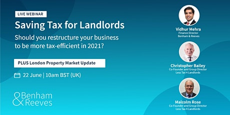 Saving Tax for Landlords: Should you restructure your business to be more t tickets