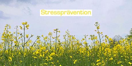 Schnupperkurs Stressprävention Tickets