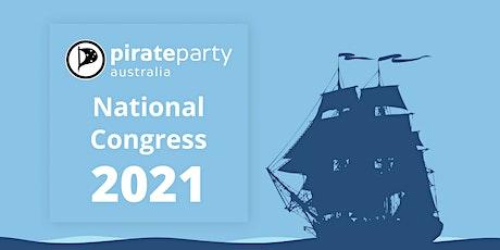 National Congress 2021 tickets