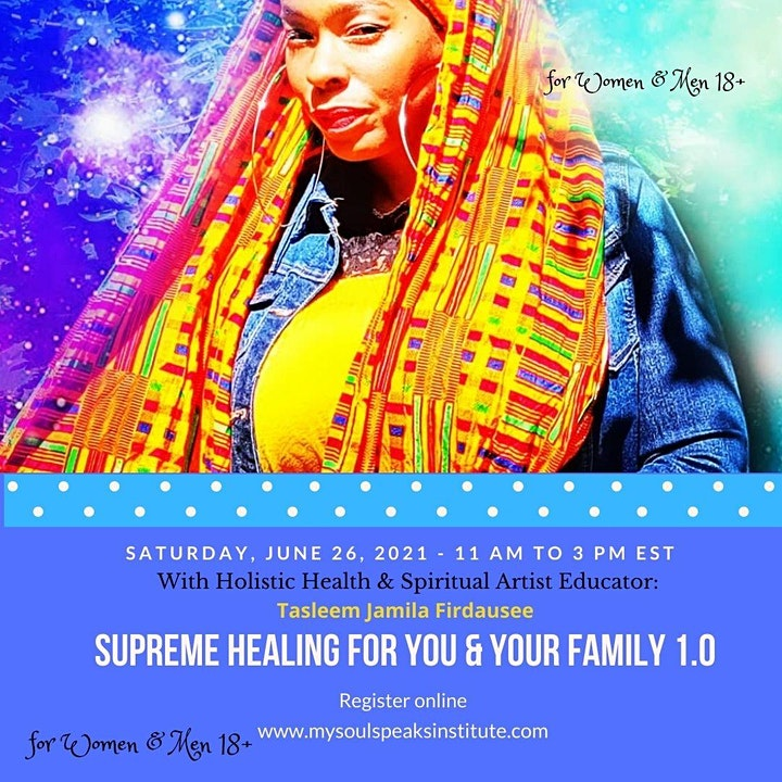 Supreme Healing for You and Your Family image