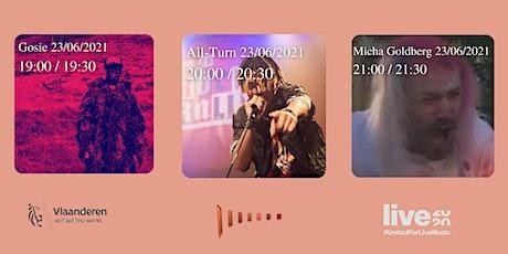 Gosie/ All-Turn/ Micha Goldberg tickets